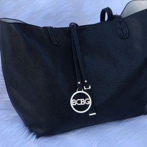 BCBG Black Tote Bag